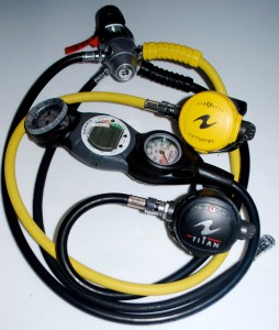 scuba dive regulator